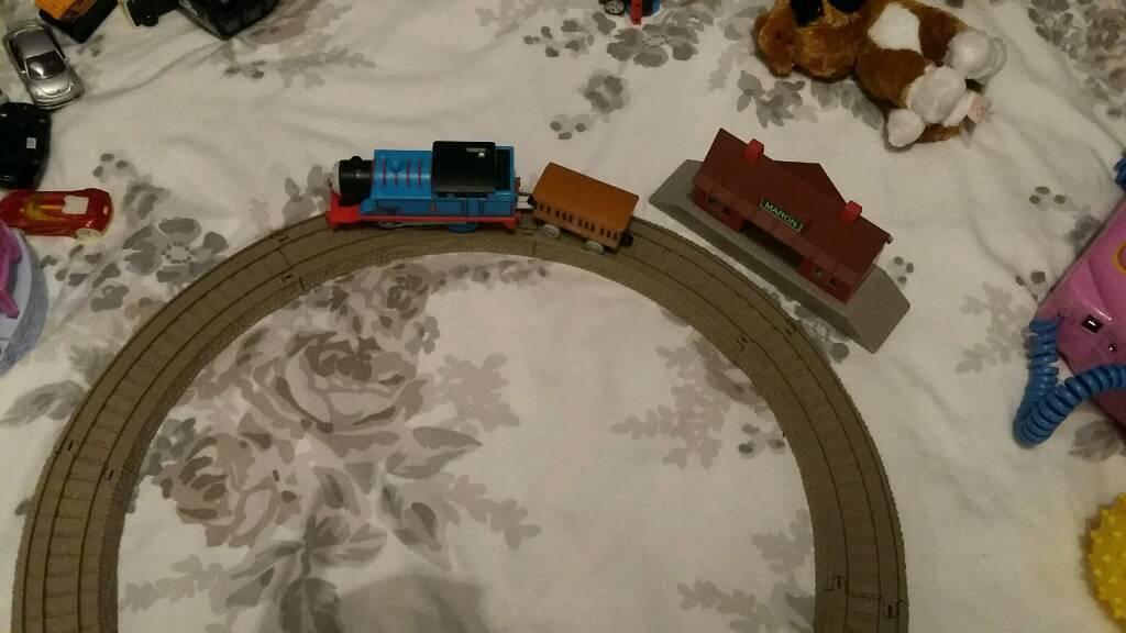 Small Thomas tank and track