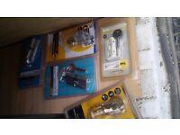 JOB LOT / Bulk Buy - Door furniture (locks, handles, hinges, draft excluders etc) REDUCED PRICE.