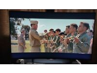 """55"""" Sony Android Curved 3D 4K Smart TV 4Pairs Of 3D Glasses & over 50 3D Movies"""