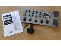 Korg Tone Works Electric Guitar effects modeling pedal board unit