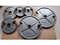 70KG OLYMPIC WEIGHT PLATES SET