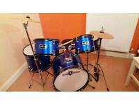 Gear4music junior 5 piece drumkit
