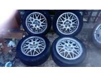 Golf anniversary wheels 15 bbs alloys