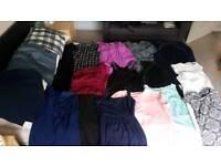 Bundle of size 10 clothes