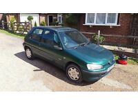 Peugeot 106 Independent FULL 12 MONTHS M.O.T