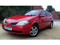 For sale Nissan Primera DCI 2005 DIESEL LOW MILEAGE FULL MOT GOOD CONDITION PX AVAILABLE