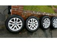 16 Bmw wheels with 205/55/16tyres
