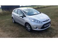 Ford Fiesta 2009 one owner 57082 miles. 1 year MOT