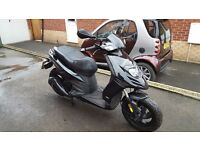 Scooter Piaggio Typhoon 125 4t Black 2013