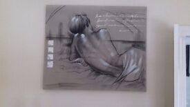 Picture..100cm by 120cm was £100.. will accept £50☺