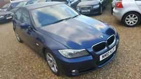 2010-BMW 3 Series 320 EfficientDynamics 4Dr Manual 06 Speed Diesel, Hpi Clear,Full Service History.