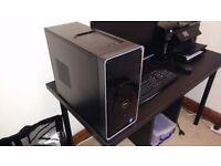 DELL INSPIRON 3847 DESKTOP PC i3 4150 with DELL 1080P MONITOR WINDOWS 10 8GB 1TB ST2220M