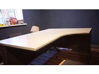 Very large and sturdy corner desk