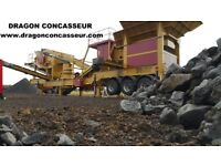 HARD MATERIAL CRUSHERS TURBO 600 , 900 AND 950.