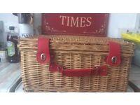 Picnic basket used