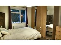Double room with loads of storage space. Located next to Carshalton Station