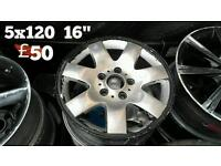 Alloy wheels for sale, prices in pictures