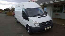 ford transit 115 350l high -top lwb 2009-59-plate, 2400 cc turbo diesel, new mot , 97,000 miles