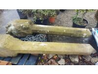 Old Stone Gate Posts