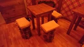 Handmade Table Chairs