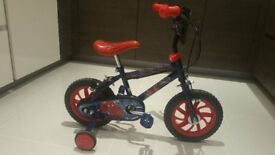Childs Spiderman Bike