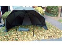 Daiwa mission brolly and overwrap