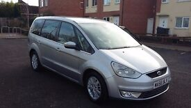 2006 ford galaxy 2.0tdci ghia leather seats, NO dreaded DPF is fitted as standard from fords