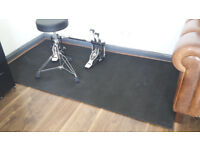 sound dampening mat - for soundproofing or noise reduction