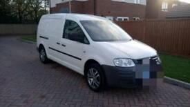 Vw caddy maxi 59reg tdi mint sat nav leathers..