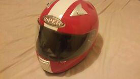 Viper Motorcycle Helmet New