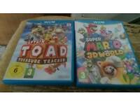 Selection of wii u games