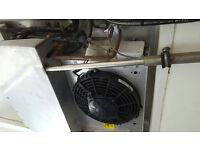 GAH Van Refrigertion unit 12 Volt belt driven from the compressor