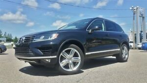2017 Volkswagen Touareg 3.6L Execline *DÉMO* CUIR SADDLE BROWN,N