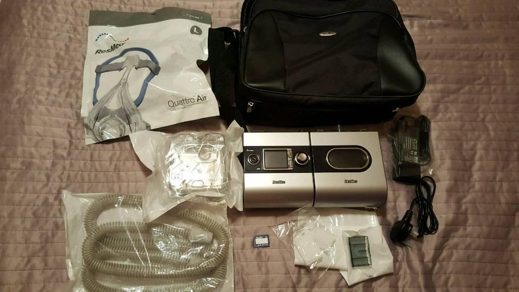 Resmed S9 Escape Cpap machine sleep apnea with mask included FREE UK DELIVERY set RRP: $1350 apnoea | in Broughton, Edinburgh | Gumtree