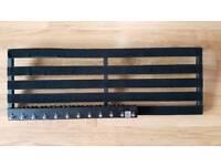Guitar pedalboard pedaltrain terra 42 + bright onion pedals looper 12