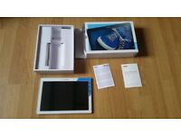 Lenovo Tab 2 tablet with original box SPARES OR REPAIRS