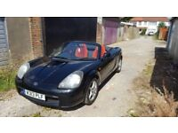Toyota mr2 black convertible low mileage