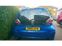 2010 Toyota Aygo Blue 5dr