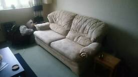 2 Seater Sofa & Recliner