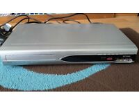 Funai DR-B3737 DVD Recorder SCART connection with remote control.