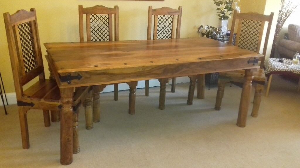 Jaipur Sheesham Dining Table