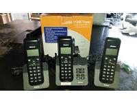Binatone Luna 1120 (s) Triple Cordless Phone With Answer Machine