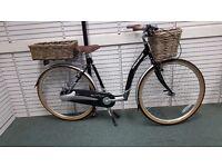 Ladies Traditional Low Step Frame Cycle Bike 3 Speed Unisex