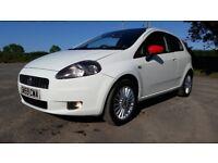 *!*BARGAIN*!* November 2009 Fiat Punto 1.4 8v GP **FULL YEARS MOT** **WHITE** **PERFECT FIRST CAR**