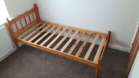 Pine Single Bed