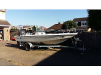 Speedboat Fishing boat