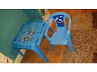Thomas table and chair for boys