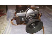 Minolta SR7 Film camera and Rokkor 55mm lens