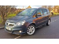 Vauxhall Zafira Design 1.9 CDTi*150 BHP* 2006 06 Reg 7 Seater Low Mileage,FSH,Mint Cond,vw/ford/seat