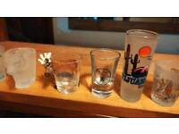 Novelty / collectable shot glasses